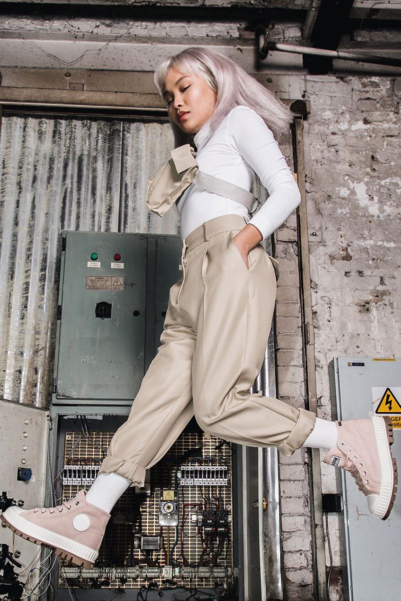 Palladium Unveils Its Innovative Shock-Absorbing Pallashock Sneaker Footwear Streetwear HYPEBEAST Fashion