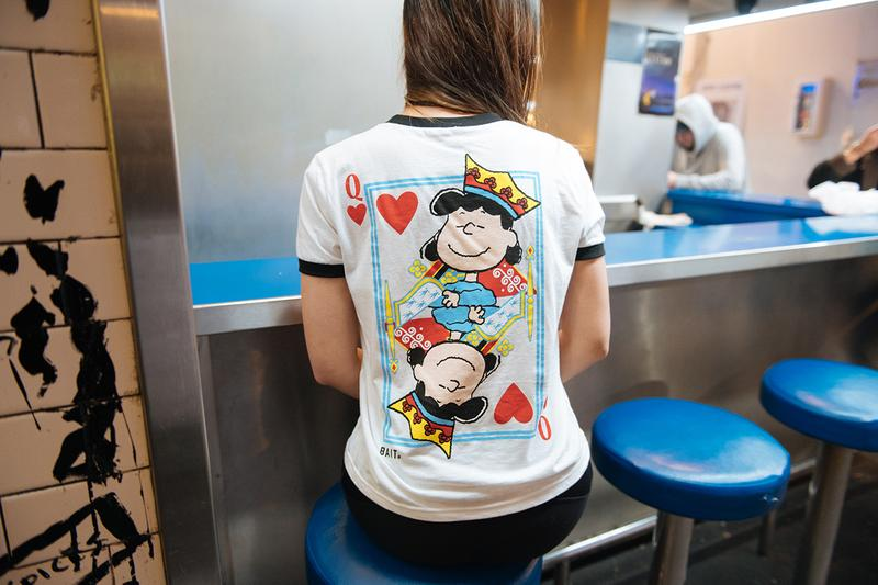 """Peanuts x BAIT """"Heart Breakers"""" Capsule Collection Lookbook First Look Charlez Schulz Charlie Brown Snoopy Woodstock Lucy Comic Book Strip Cartoon Characters 1950s Valentine's Day Gifts 2020 For Him For Her"""