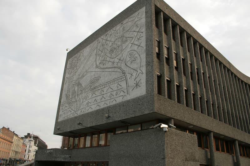 norway y block building pablo picasso concrete murals oslo