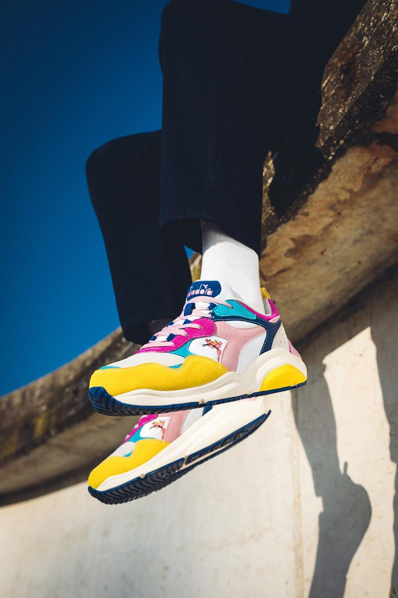 the pink panther diadora lc23 rebound ace whizz run release date info photos price