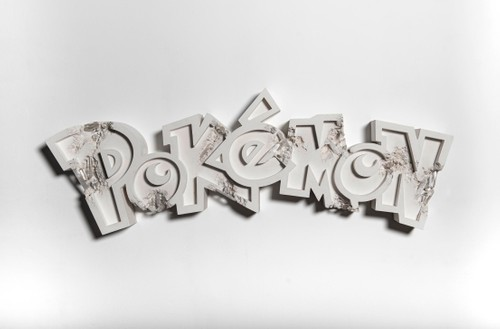 Pokémon Collaborates with Daniel Arsham on Sculptural Art Project