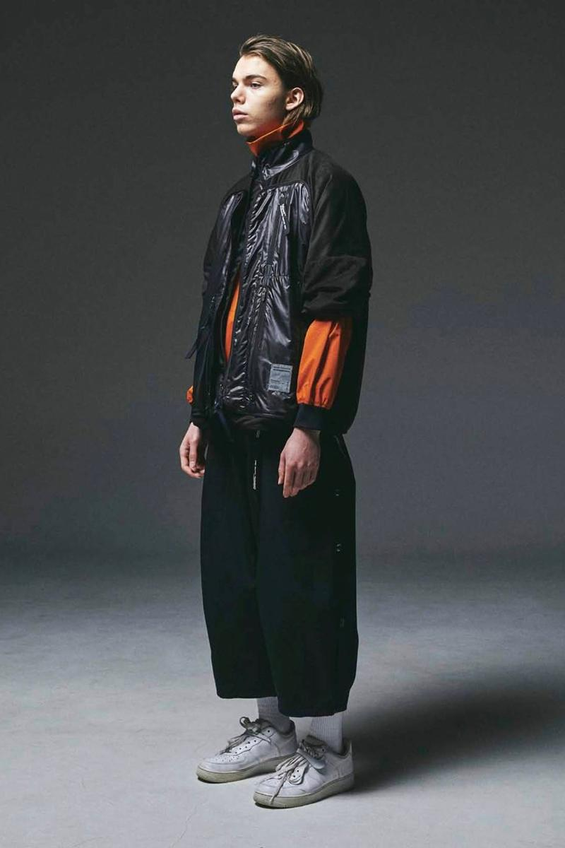 POLIQUANT Fall Winter 2020 Lookbook collection functional techwear technical deconstruction reconstruction modular jackets coats pants nylon trousers shirts sweaters menswear streetwear japanese