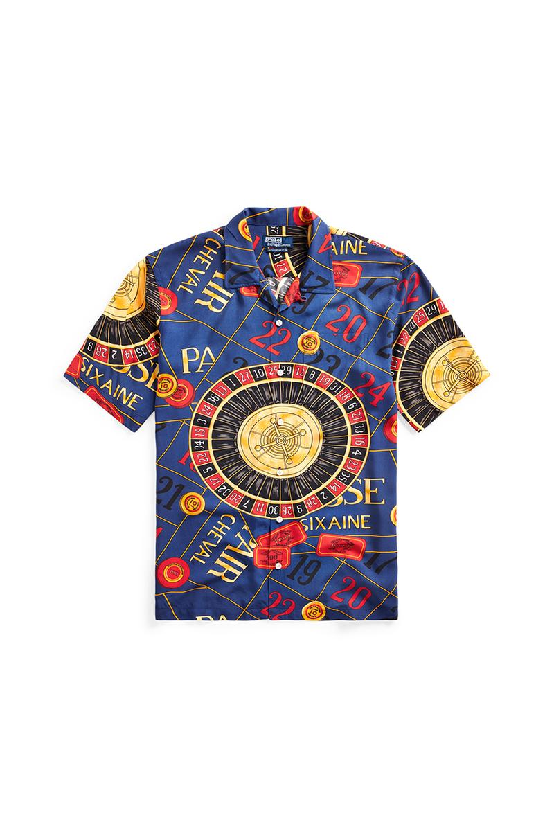 "Polo Ralph Lauren ""The Casino Collection"" Lookbook First Look Release Information Opening Ceremony Classic Design Bomber Jacket Shirts Shorts Skirts Menswear Womenswear Print Archive Spring 2020"