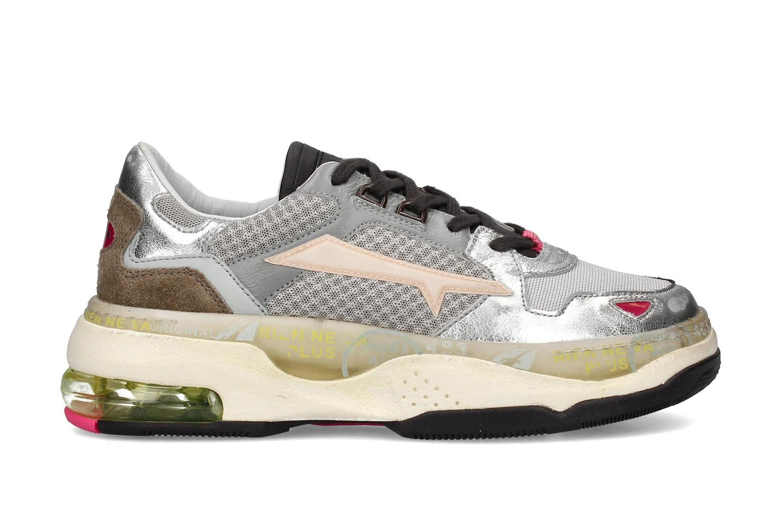 premiata ss20 sizey collection footwear sneakers drake sharky bold colour campaign italian luxury