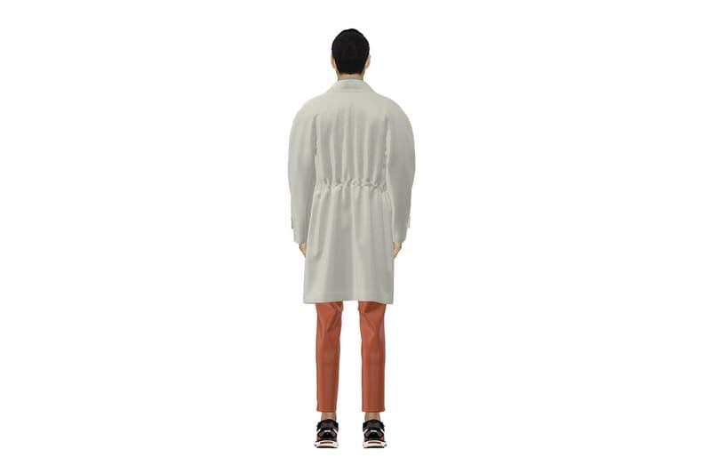 PSEUDONYM Fall Winter 2020 Lookbook denmark Copenhagen scandinavian digital renderings sensory runway show jackets coats streetwear minimal sustainable brand Jacques Zhang