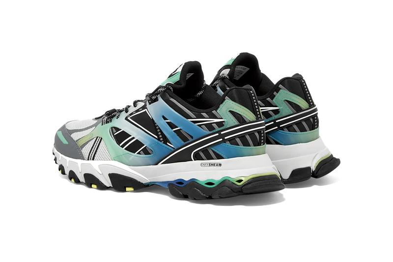 reebok dmx trail shadow steel grey black bottle green blue fv5632 release date info photos price