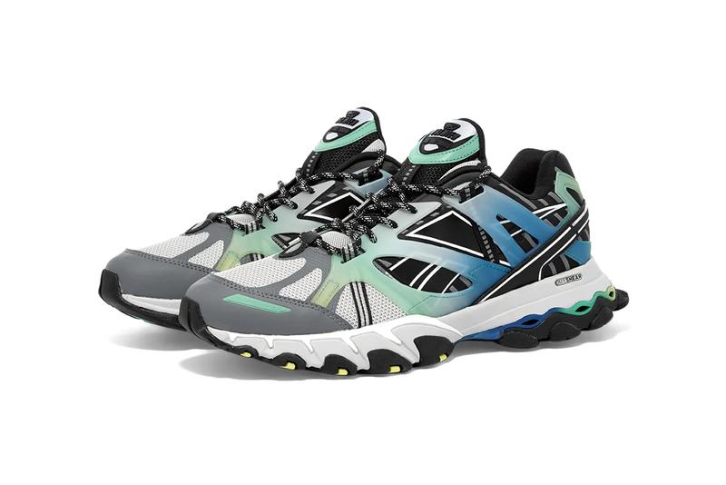 reebok dmx trail shadow steel grey black bottle green blue fv5632 release date info photos price