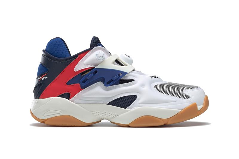 Reebok Pump Court White collegiate Navy Red FV5565 Release Info sneakers classics shoes blue chalk