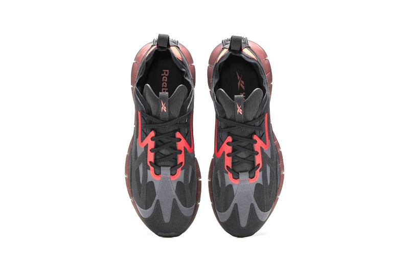 "Reebok Zig Kinetica Concept_Type2 Release Information ""BLACK / SEAPORT TEAL / MYSTIC ORCHID"" ""NIGHT BLACK / TRUE GREY 7 / RADIANT REDFirst Look Footwear Sneaker Label Brand Performance Technology"