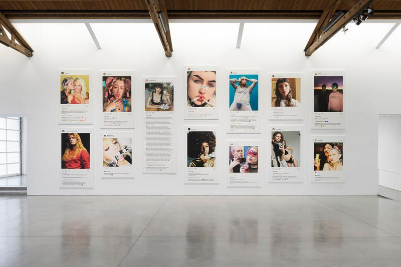 Richard Prince 'New Portraits' Gagosian Los Angeles Exhibition Instagram Portraits Photographic Canvas
