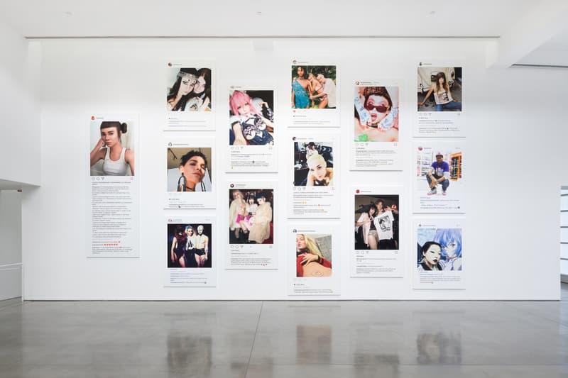Richard Prince 'New Portraits' Gagosian Los Angeles Exhibition Instagram Portraits Photographic Canvas