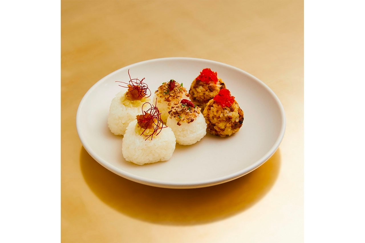RIKE Los Angeles Rice Ball Restaurant Info Interior Food Look Photos Hisato Takenouchi nana-nana Open Hours