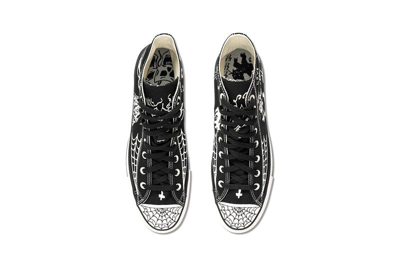 Sean Pablo x Converse CONS Chuck Taylor All Star Pro High Top Black Colorway Release Information Skateboarder Collaboration Drop Date Cop Footwear LA Artwork