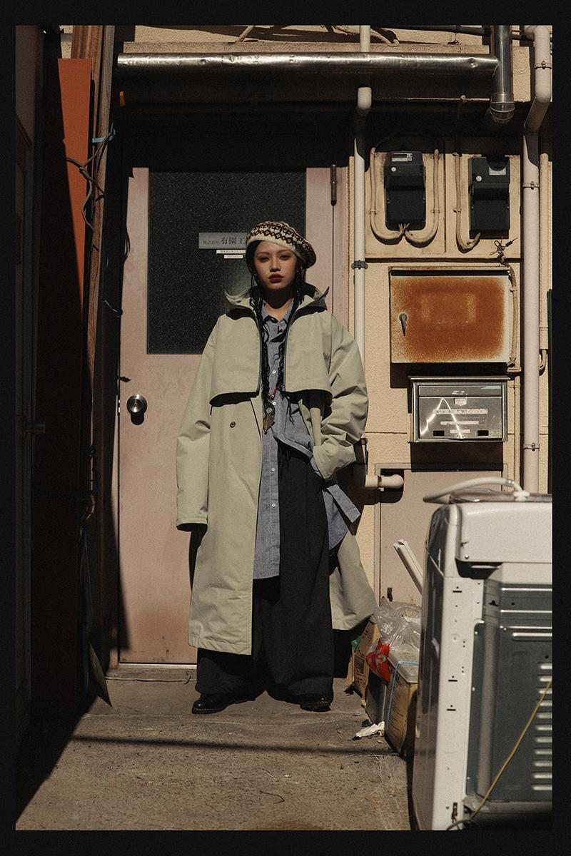Sillage Spring 2020 Collection lookbook Nicolas Yuthanan Chalmeau garments sartorial bespoke classic american essentials basics japanese tokyo label boxy shirts trousers pants