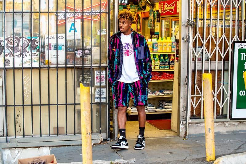 Sneakersnstuff streetball nba all star weekend 2020 sherpa jacket shorts trousers basketball T-shirt longsleeve hoodie buy cop purchase release information