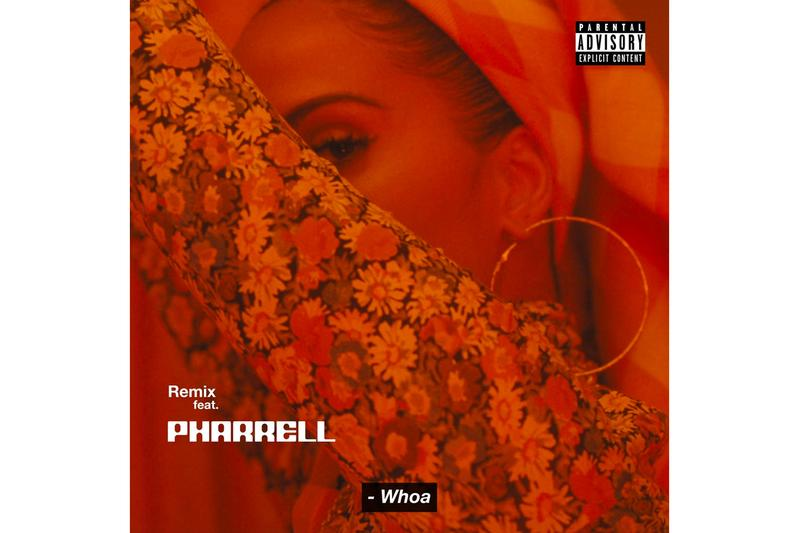 Snoh Aalegra Pharrell williams Whoa remix Release Info