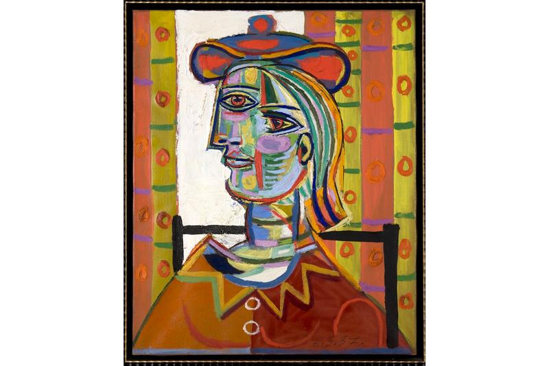 Stephen Wynn 2 Picasso Paintings donald b Marron Estate 105 Million USD Woman with Beret and Collar Seated Woman Jacqueline