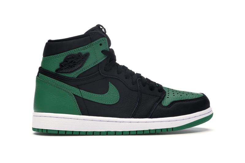 StockX Jordan 1 Retro High Pine Green Black Black Toe Movement Pine Green White