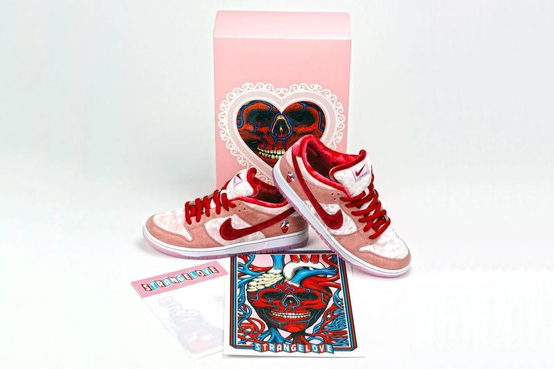 StrangeLove Skateboards Deluxe Packaging Nike SB Collab Release Bots Cancelled Dunk Low Release info