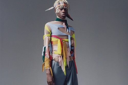 Knots & Draping Details Define STRONGTHE's FW20 Collection