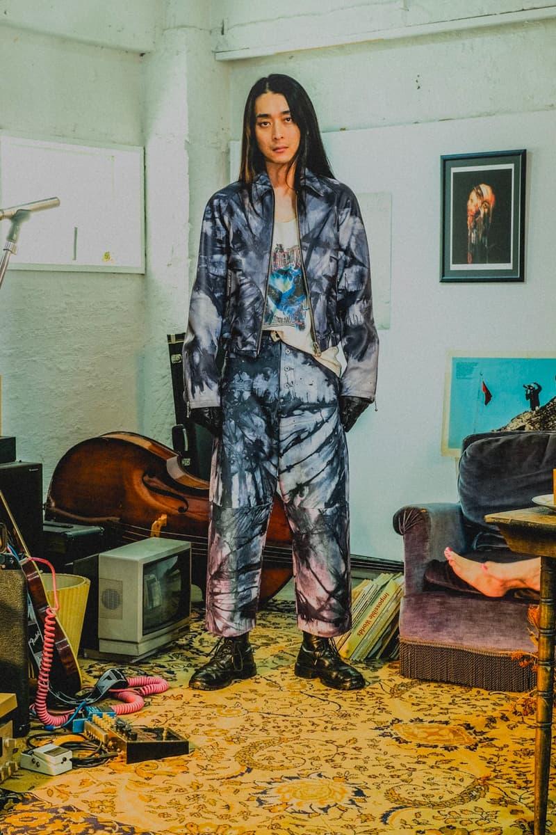 Sugarhill Fall Winter 2020 collection lookbook japanese designer coats jackets motorcycle biker plaid streetwear Rikuya Hayashi menswear duffle trench mohair knitwear sweater