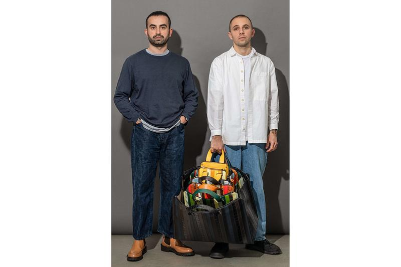 "SUNNEI x VALEXTRA ""EXTRAMILANO"" Capsule Collection Fall 2020 Bags Release Information Loris Messina Simone Rizzo Italian Luxury Labels Leather Milan Men's Fashion Week"