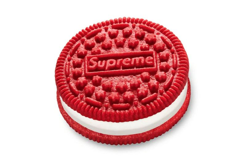 Supreme Oreo Collaboration Packaging Photos Release Info Spring Summer 2020 Buy Price Where Double Stuf red white