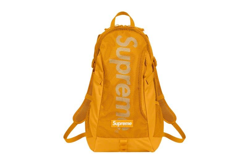 Supreme Spring Summer 2020 Bags De Martini Vanson Leathers fanny packs camera backs accessories coin purse pouch Cordura