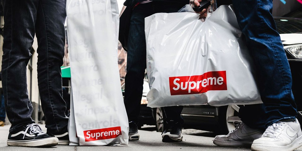 Take a First Look at Supreme's SS20 Box Logo Sticker and Free Poncho