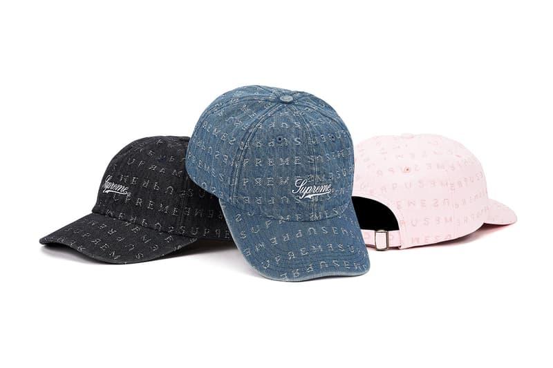 Supreme Spring Summer 2020 Hats Caps Bucket Beanie MLB Rammellzee Jamil GS 2001 Calendar