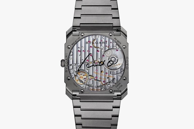 Tadao Ando BVLGARI Octo Finissimo Automatic Watch Release Info Buy Price