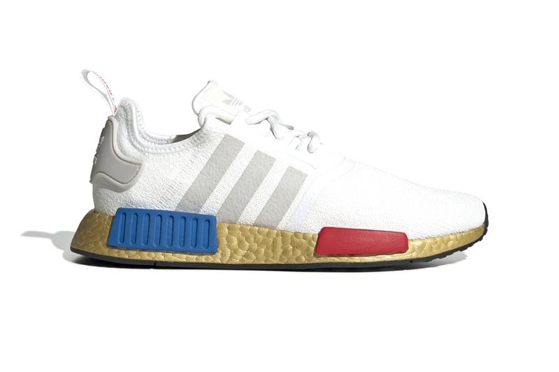 Adidas Nmd R1 Cloud White Gold Overlay Release Info Hypebeast