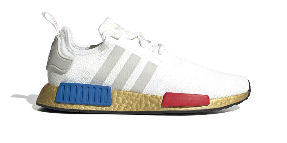 The adidas NMD R1 Unites OG Colors With a Golden Overlay
