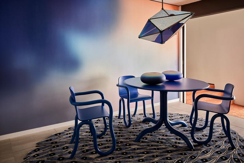 "The Future Perfect Matthew Day Jackson ""Wonky"" Collection Casa Perfect Los Angeles Furniture Trousdale Estates Tables Chairs Shelves"