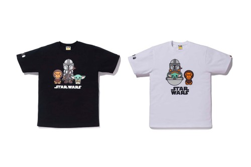 BAPE Taps 'The Mandalorian' for a Playful Capsule Centered Around The Child
