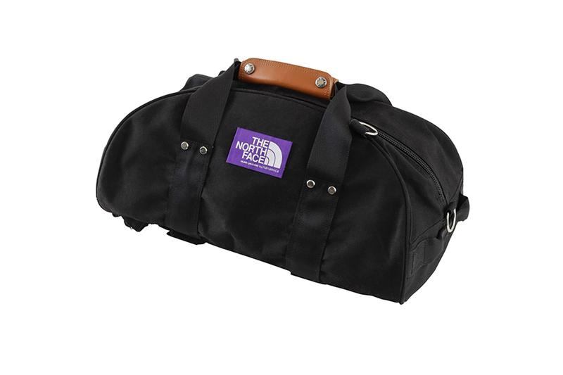THE NORTH FACE PURPLE LABEL Duffle Daypack 1970 inspiration updated modern para cloth nanamica japanese spring summer 2020 collection white purple black three way bags backpacks