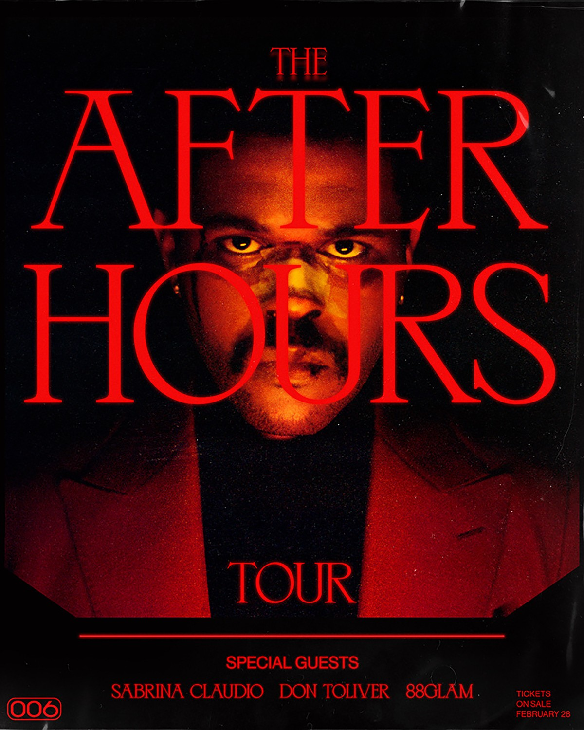 The Weeknd 'After Hours' Tour Dates for Europe featuring Don Toliver Sabrina Claudio 88GLAM Live Music UK New Music O2 Arena Listen Watch HYPEBEAST Toronto London