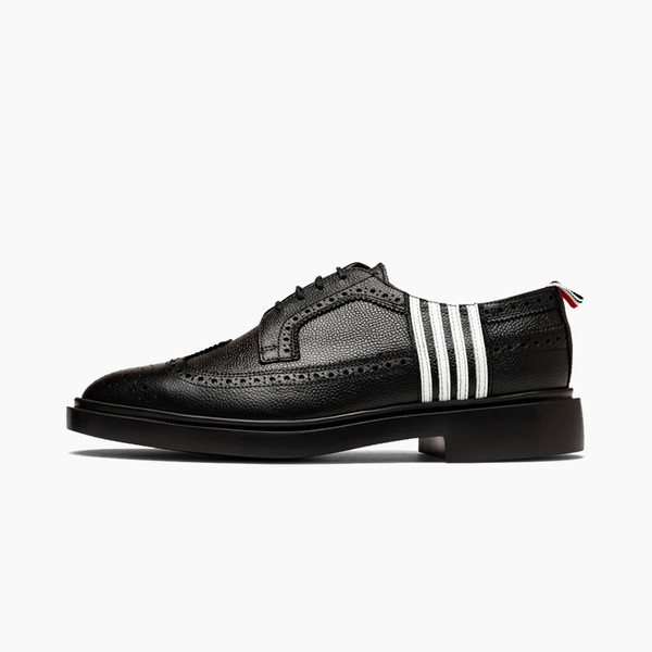 Thom Browne Four-Bar Applique Longwing Brogue