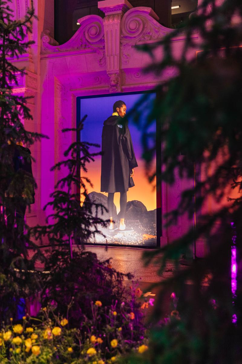 the north face ss20 black series paris fashion week debut event performance outwear design led collection range material technology