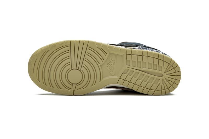 Travis Scott Nike SB Dunk Low Cactus Jack Best Look Yet ct5053-001 Release Info Buy Price Stadium Goods Black Parachute Beige Petra