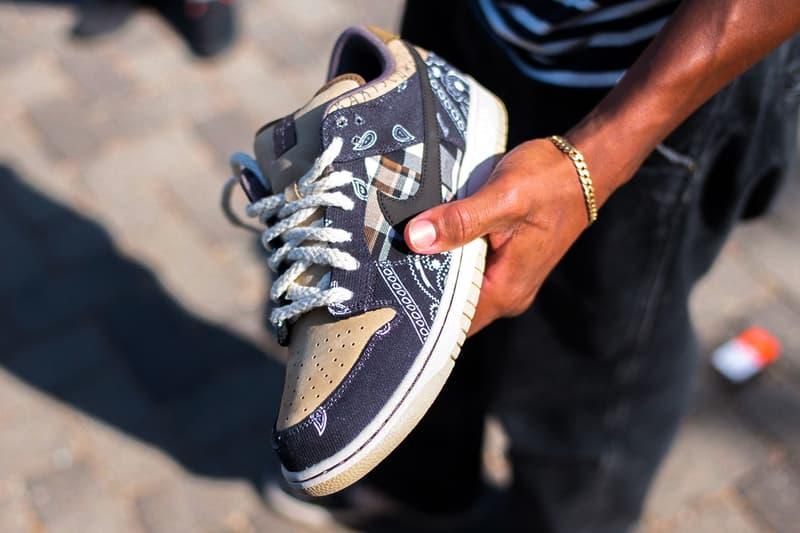 Leo un libro Tía Pronunciar  Travis Scott x Nike SB Dunk Low