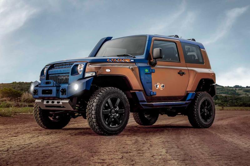 Troller Ford TX4 SUV Info Ford Brazil T4 off-roading cars mud nature HELLA LSD Jeeps