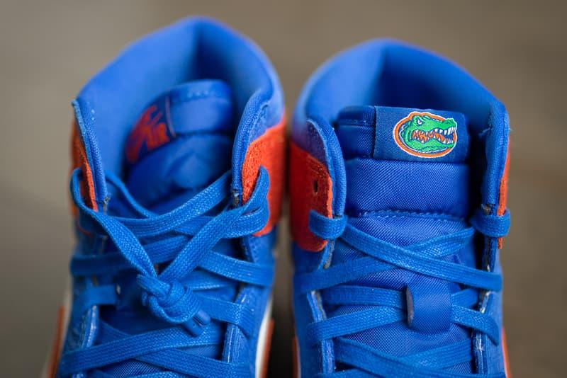 air jordan 1 unc university of north carolina florida gators tar heels release date info photos price