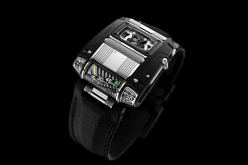 urwerk two tone ur 111c watches accessories swiss luxury timepiece