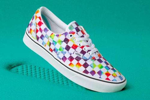 Vans Fuses Tie-Dye & Its Checkerboard Pattern on the ComfyCush Era & Old Skool