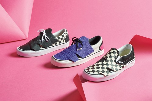 """Vans Presents Abstract Takes of Classic Silhouettes for New """"Origami Pack"""""""
