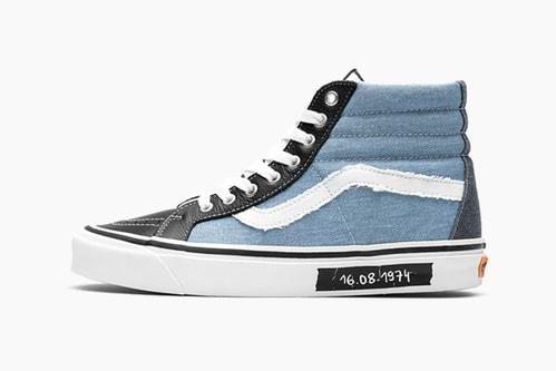 """size? x Vans Sk8-Hi """"History of Punk"""""""