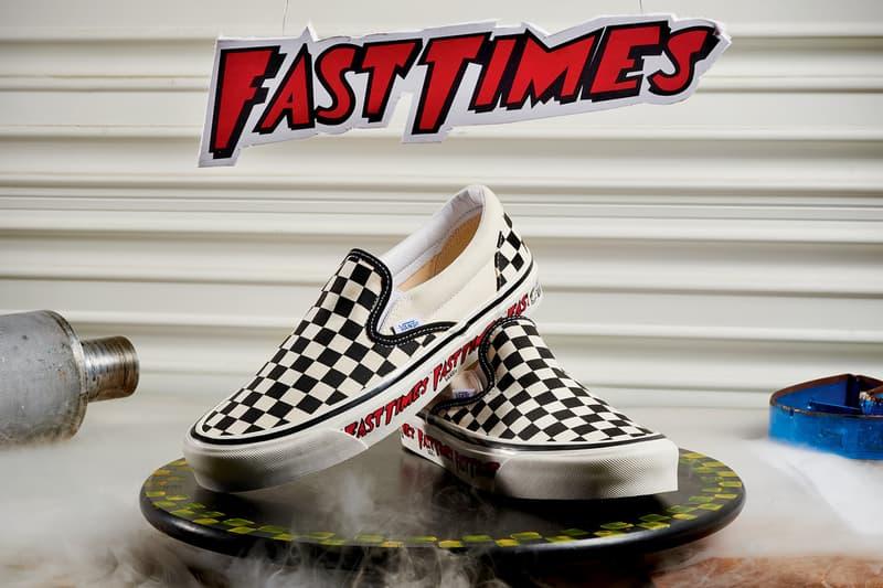 vans fast times at ridgemont high checkerboard slip on spicoli release date info photos price