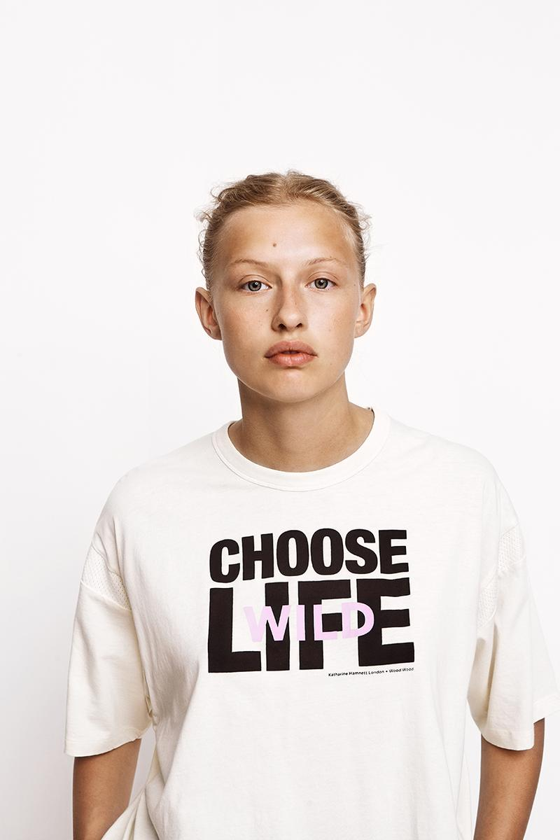 katharine hamnett wood wood choose life social real wild release information sportswear classics buy cop purchase release information