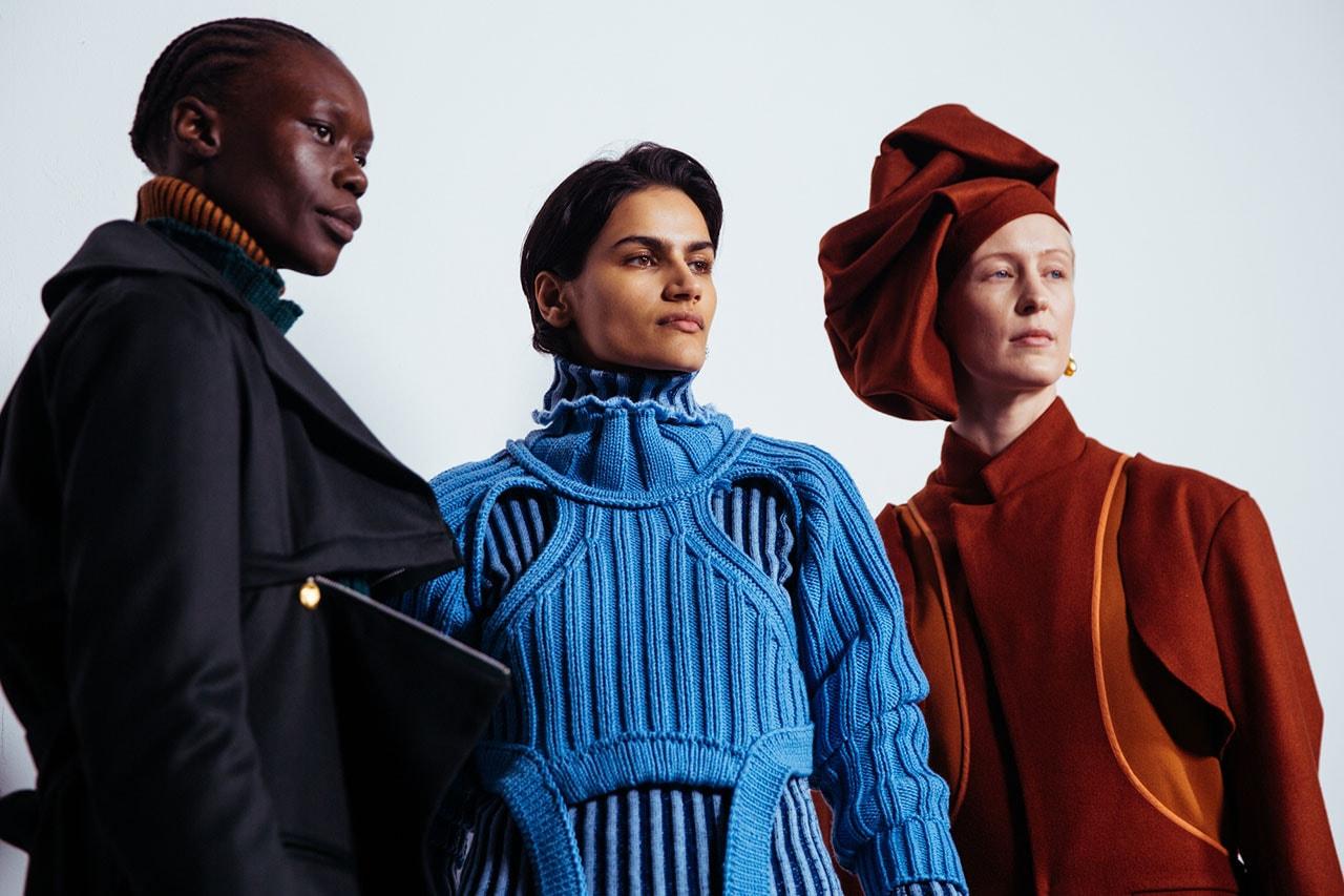Richard Malone, Bode Win Woolmark Prize 2020 international award karl lagerfeld announce london fashion week